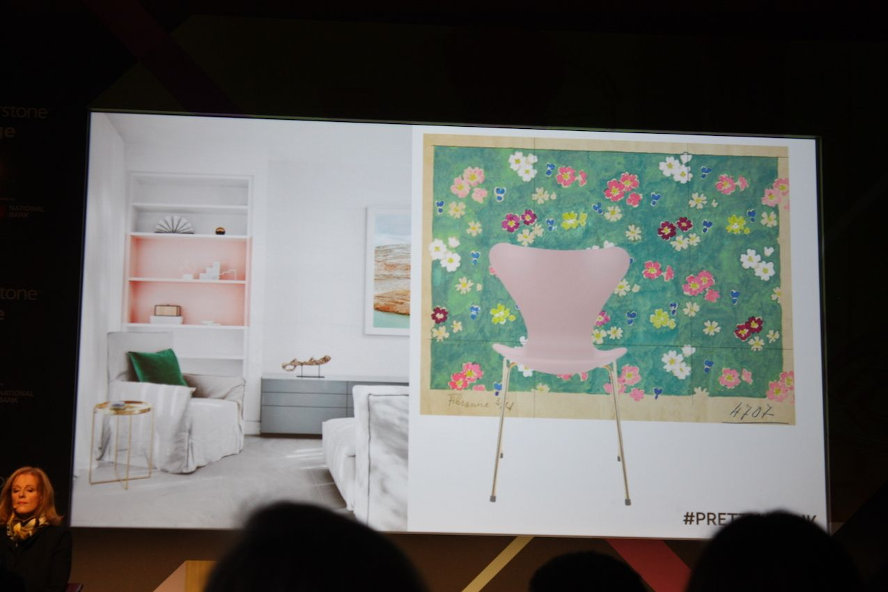 Pretty in Pink - Design Show in Toronto from Suzanne Dimma