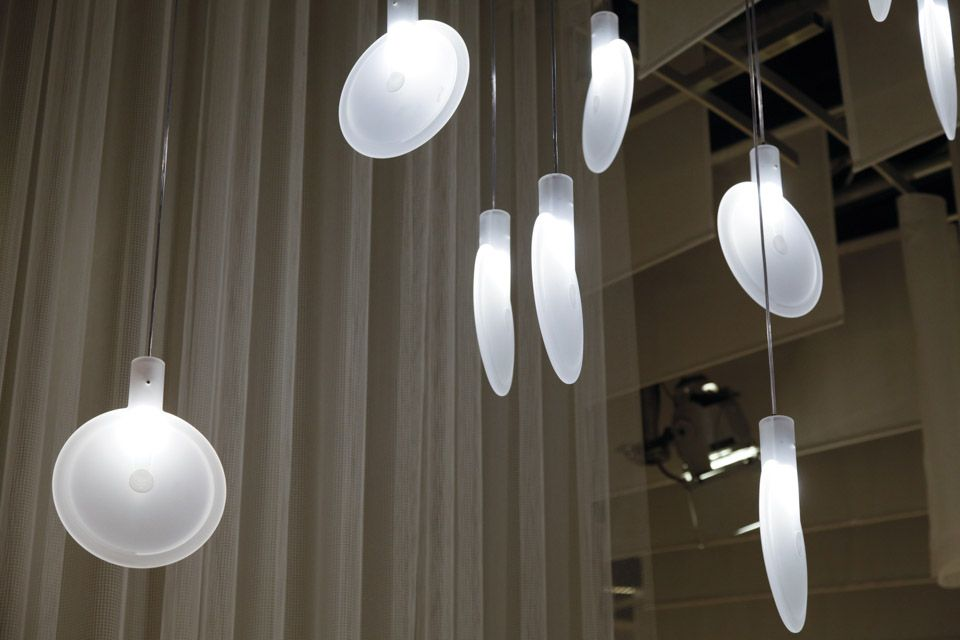Nebra lights by Sebastian Herkner for Fontana Arte
