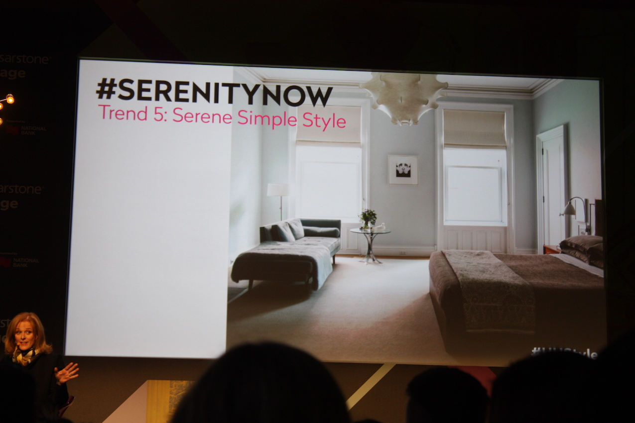 Senere Simple Style - Design Show in Toronto from Suzanne Dimma