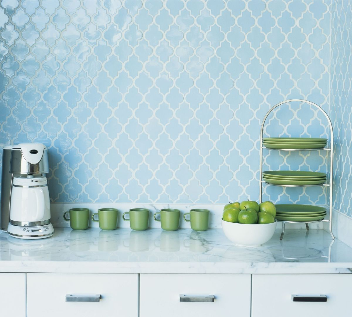 Serenity backsplash tiles