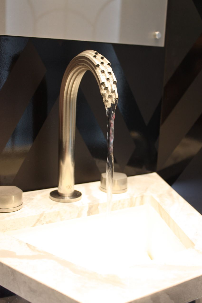 The Shadowbrook 3-D printed faucet.
