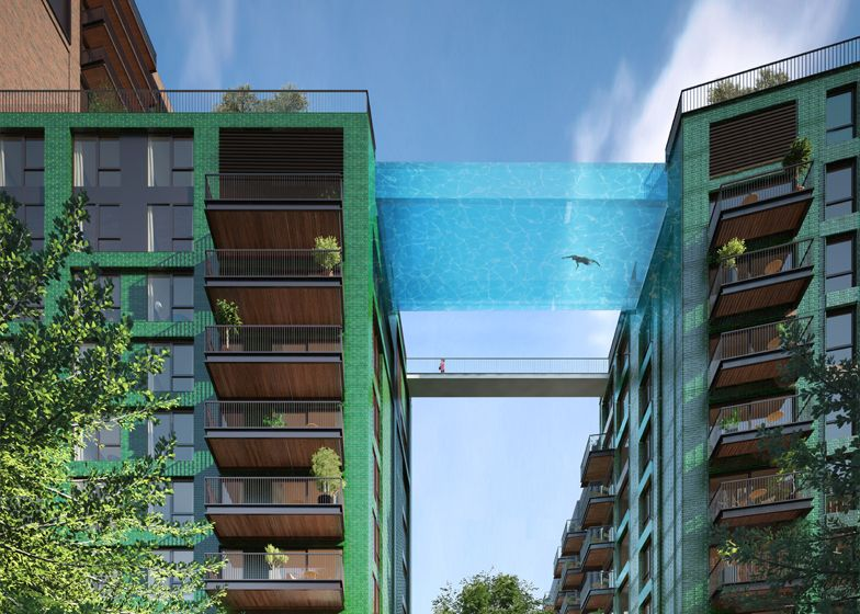 Sky Bottom Swimming Pool in London