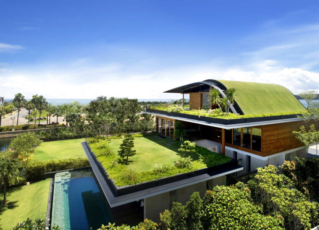 Sky Garden House With Swimming Pool