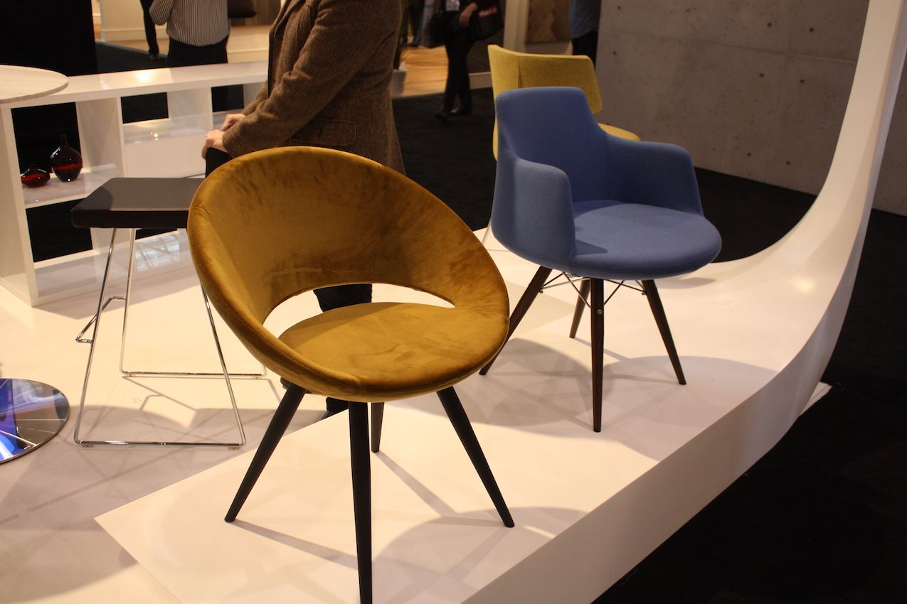 home decor 2016. These two sleek legged chairs from SohoConcept are a good example of pieces  to incorporate Latest Home Decor Trends From IDS 2016