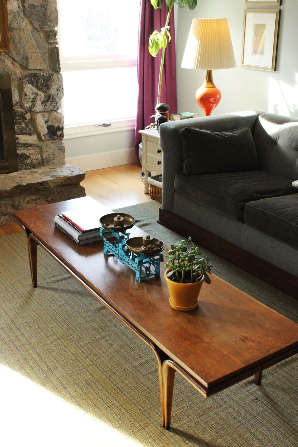 How To Style A FamilyFriendly Coffee Table - Cheap mid century coffee table