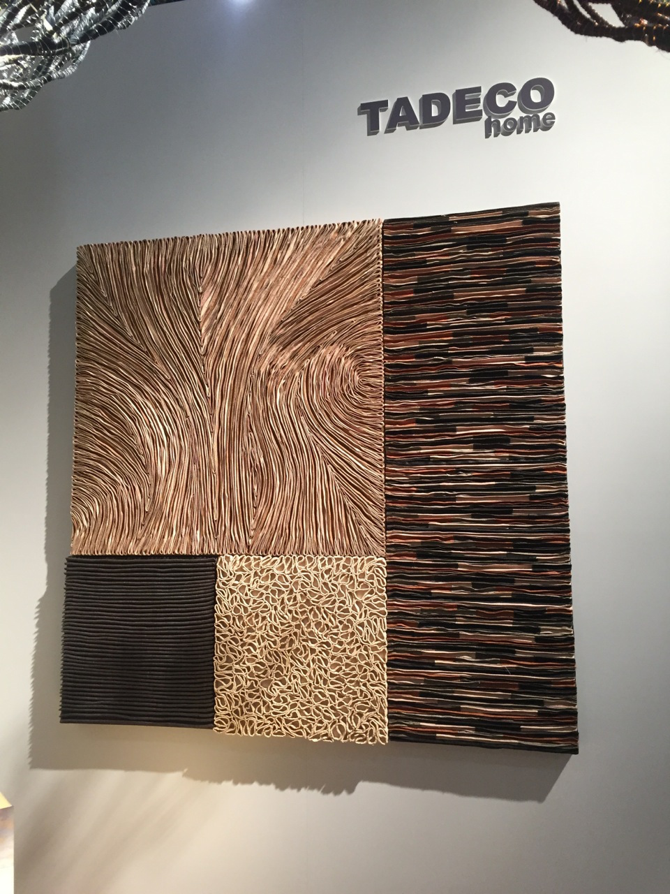 Natural wall tiles, like these from Tadeo Home, can be used as a wall covering or accent to update your decor.