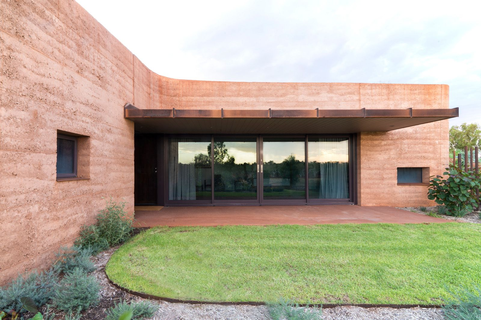 The Great Wall of WA Architecture Front House