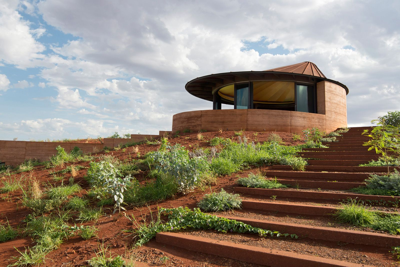 The Great Wall of WA Architecture House