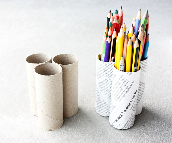 Attractive Toilet Paper Tubes Pencil Holder Design Inspirations