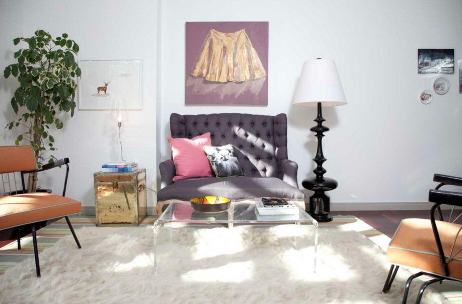 Transparente Möbel - wie ein Acryl-Couchtisch