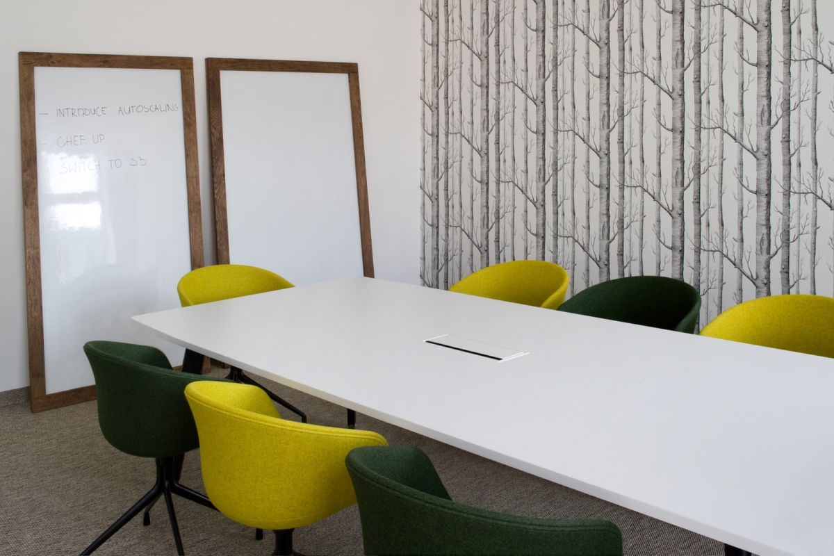 Inspiring Office Meeting Rooms Reveal Their Playful Designs
