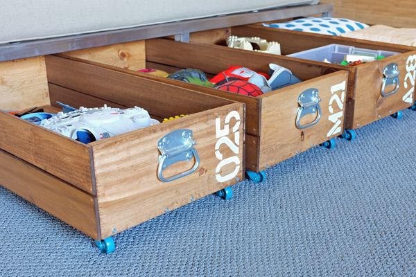 Under-the-Bed Storage