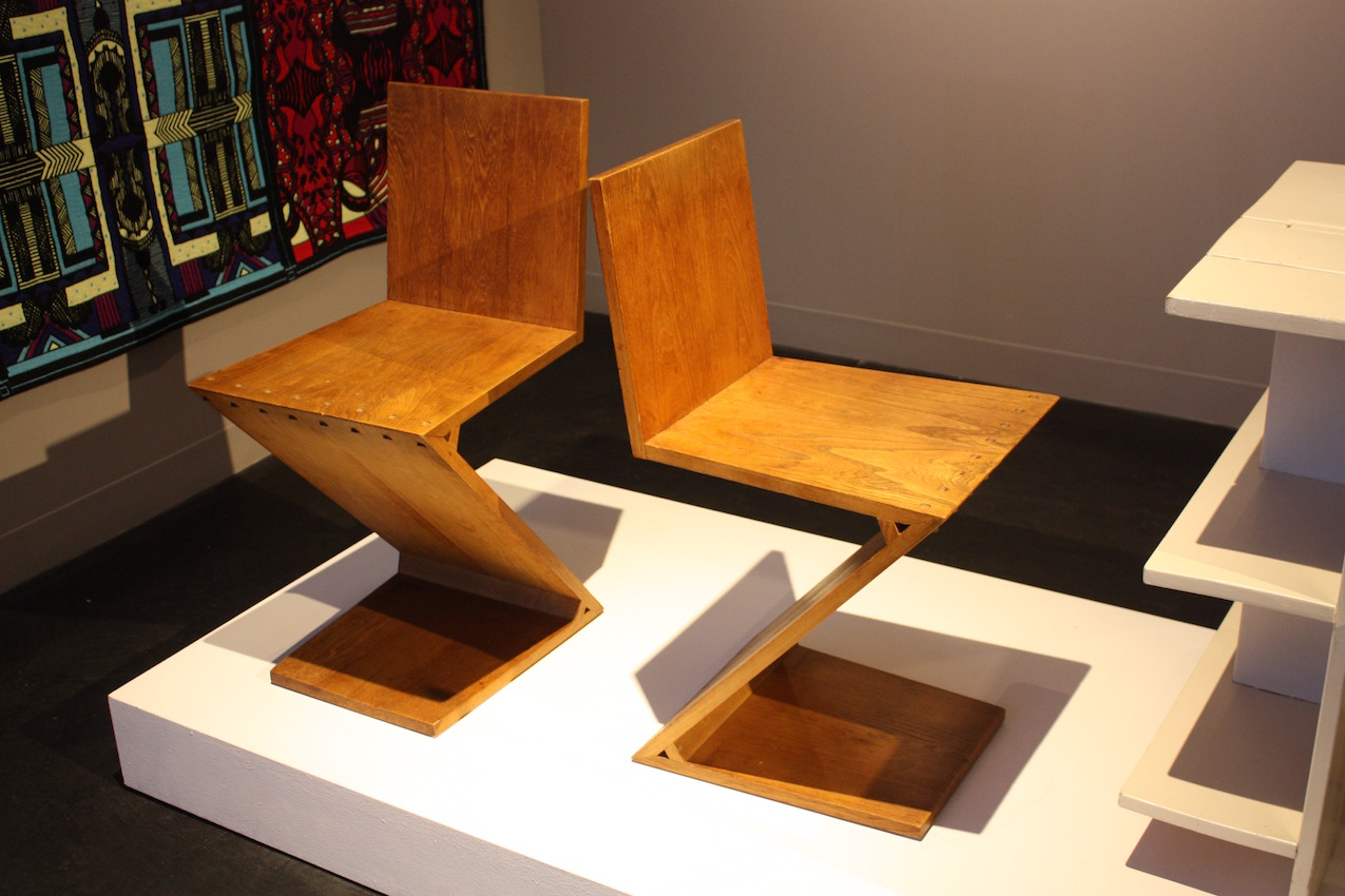 Classic wood can also be characteristic of modern chairs. These Zig Zag chairs were designed by Gerrit Th. Rietveld in 1935. A good example of great design, these chairs have lasted for close to a century and are still as appealing and relevant they were when created.
