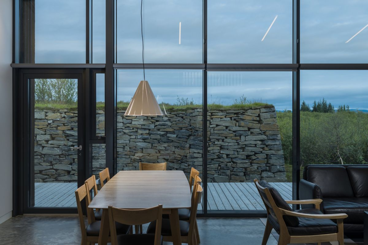 Vacation cottage in Iceland Dining - Living