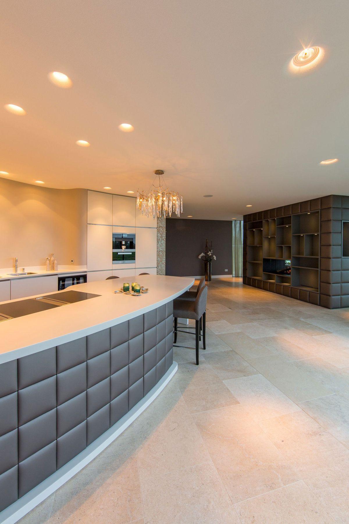 Villa New Water by Waterstudio.NL kitchen design