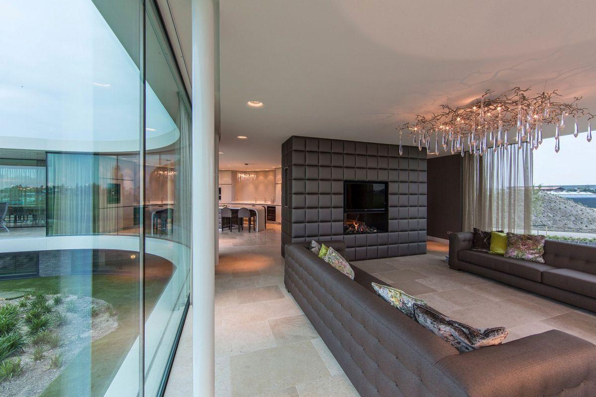 Villa New Water by Waterstudio.NL living room seating