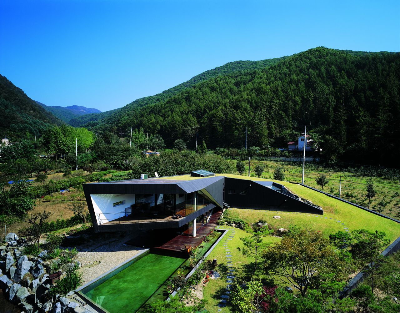 Villa Topoject Green Roof