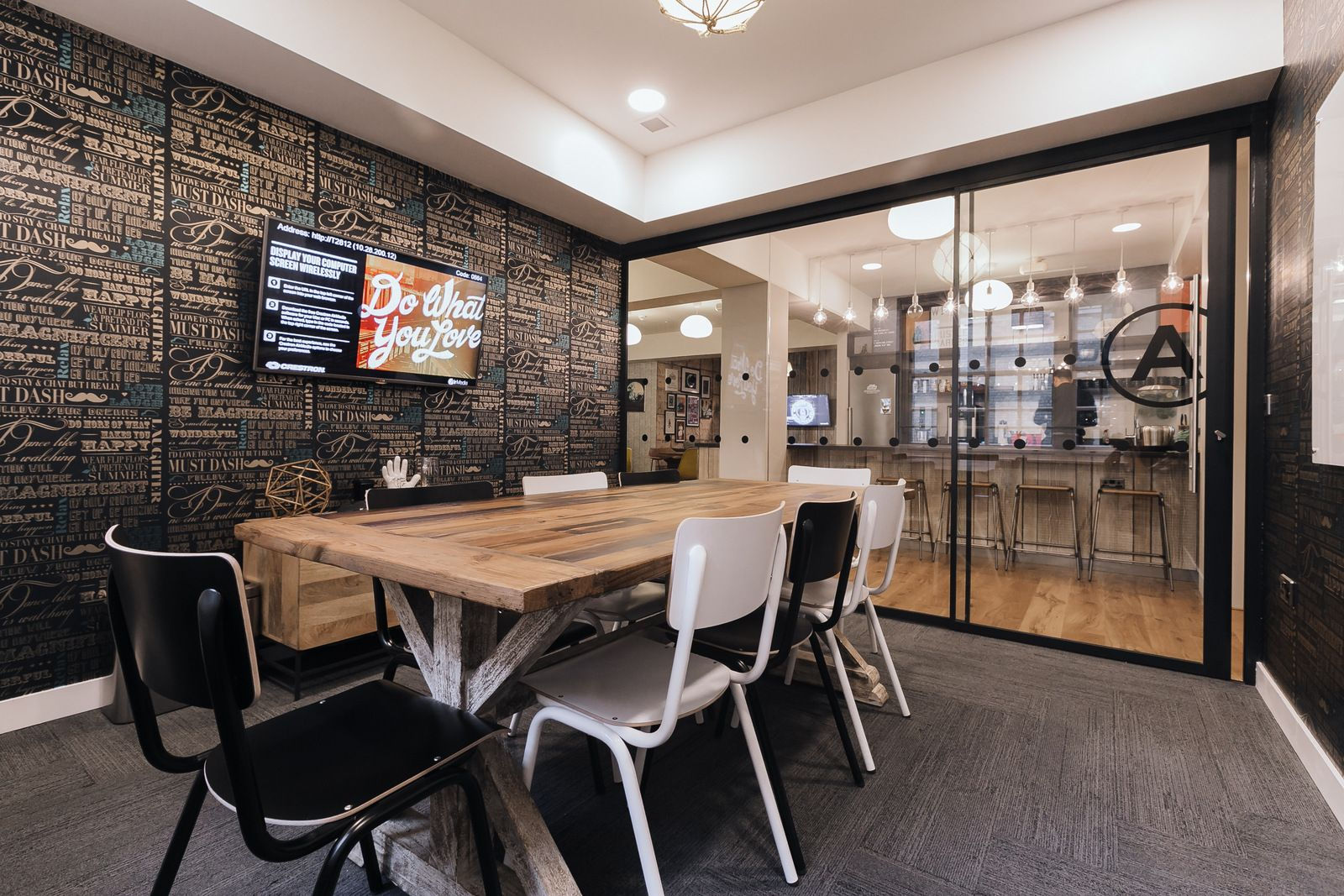 Wework London Meeting Room