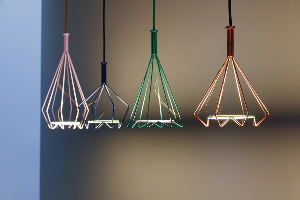 These Viiva lights would look great as a flash of brightness in a monochrome kitchen