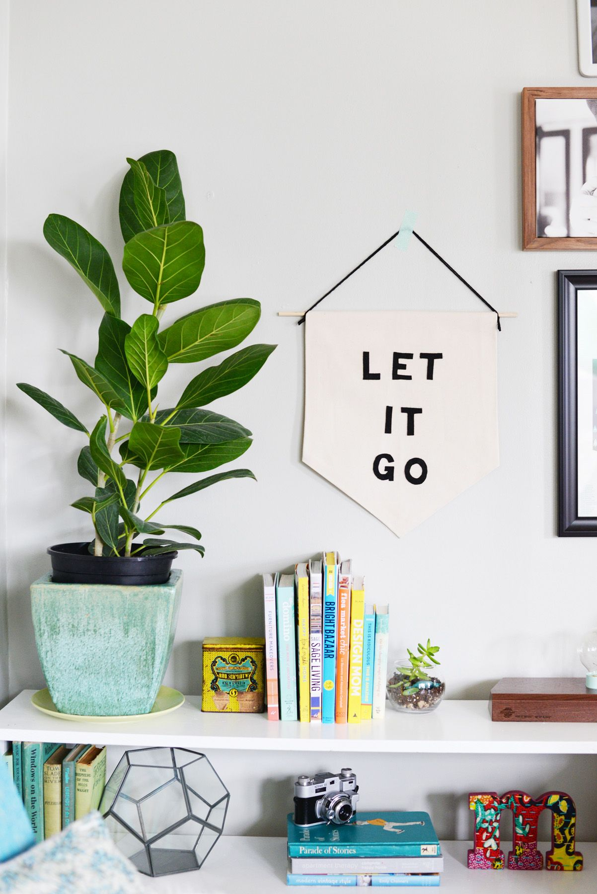 Diy Banner With Your Favorite Inspirational Phrase