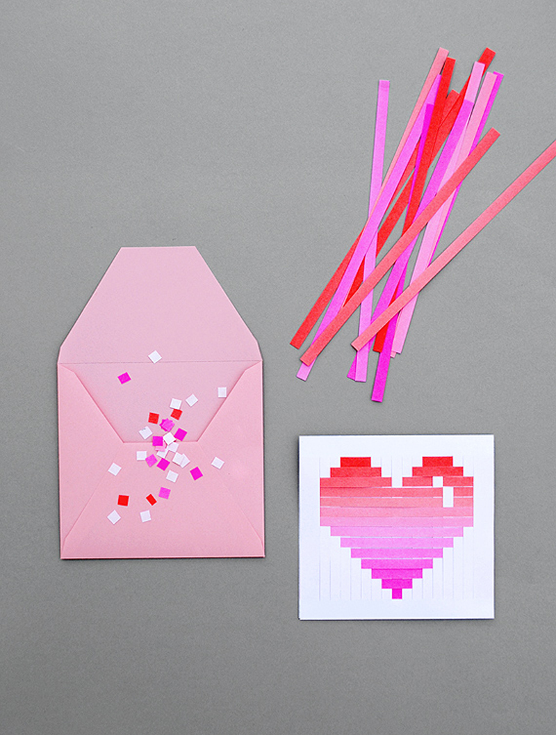DIY Valentines Day Cards for Your Husband Your Mom and Everyone Else – Construction Paper Valentine Cards