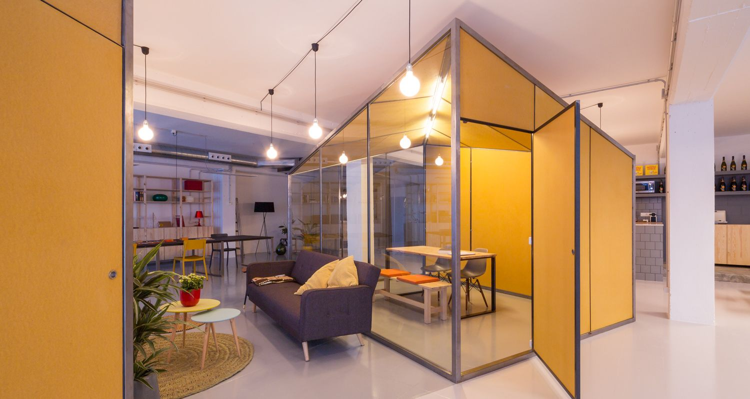 Inspiring office meeting rooms reveal their playful designs for Space architecture and design