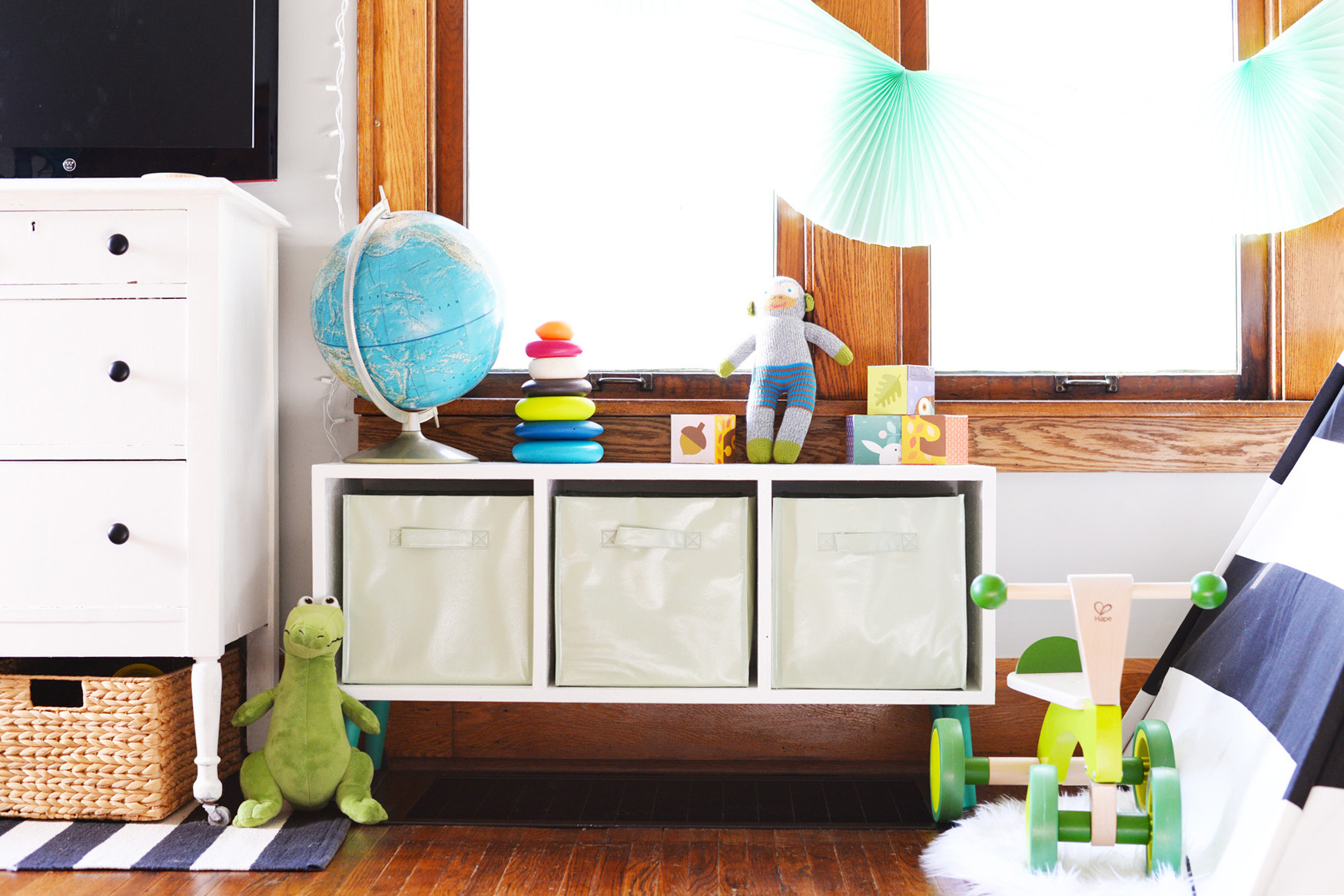 10 DIY Kids' Storage Ideas