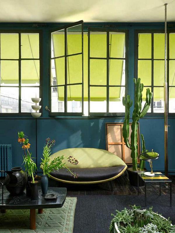 Add plants to living room - design from Florence Lopez