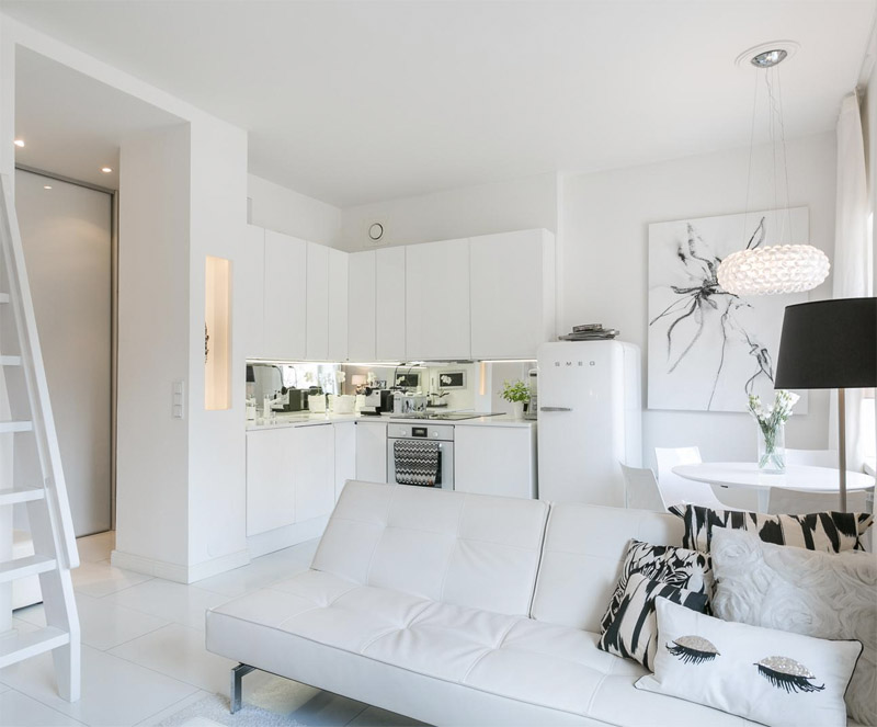 Advantage of a small helsinki loft - kitchen