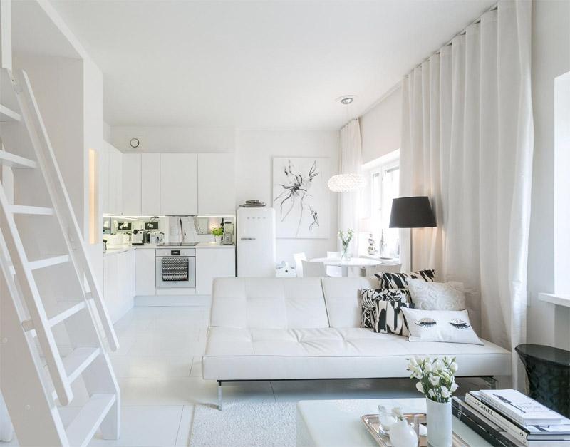 advantage of a small helsinki loft
