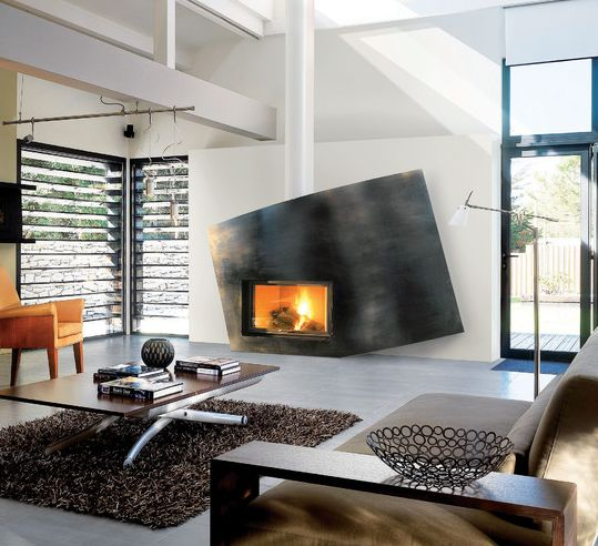 Asymmetrical designs are sometimes defining characteristics for contemporary interiors