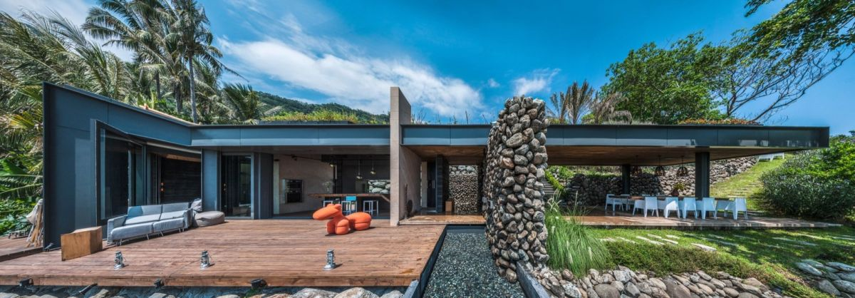 A'tolan house in Taiwan outdoor living space
