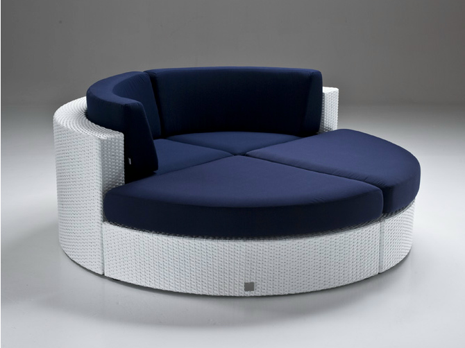 Bahia Indoor-Outdoor-Runde Couch