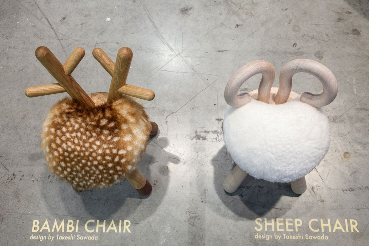 Bambi And Sheep Chairs