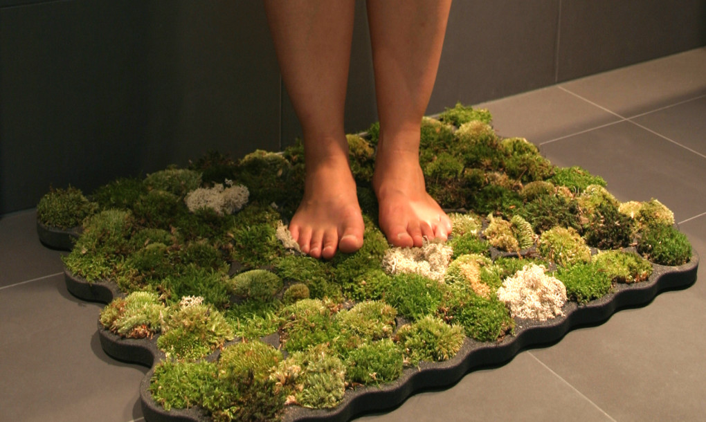 Bathroom Moss Carpet by Nection Design