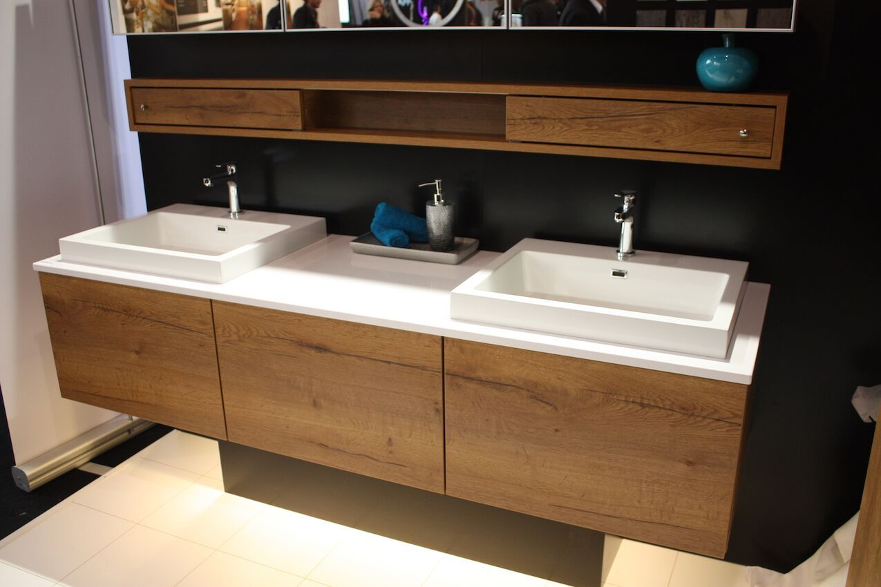 Bathrooms are also top of the list when it comes to home renovations. So many innovations have been made in bathroom fixtures and technology that a double vanity now looks like a stylish piece of furniture.
