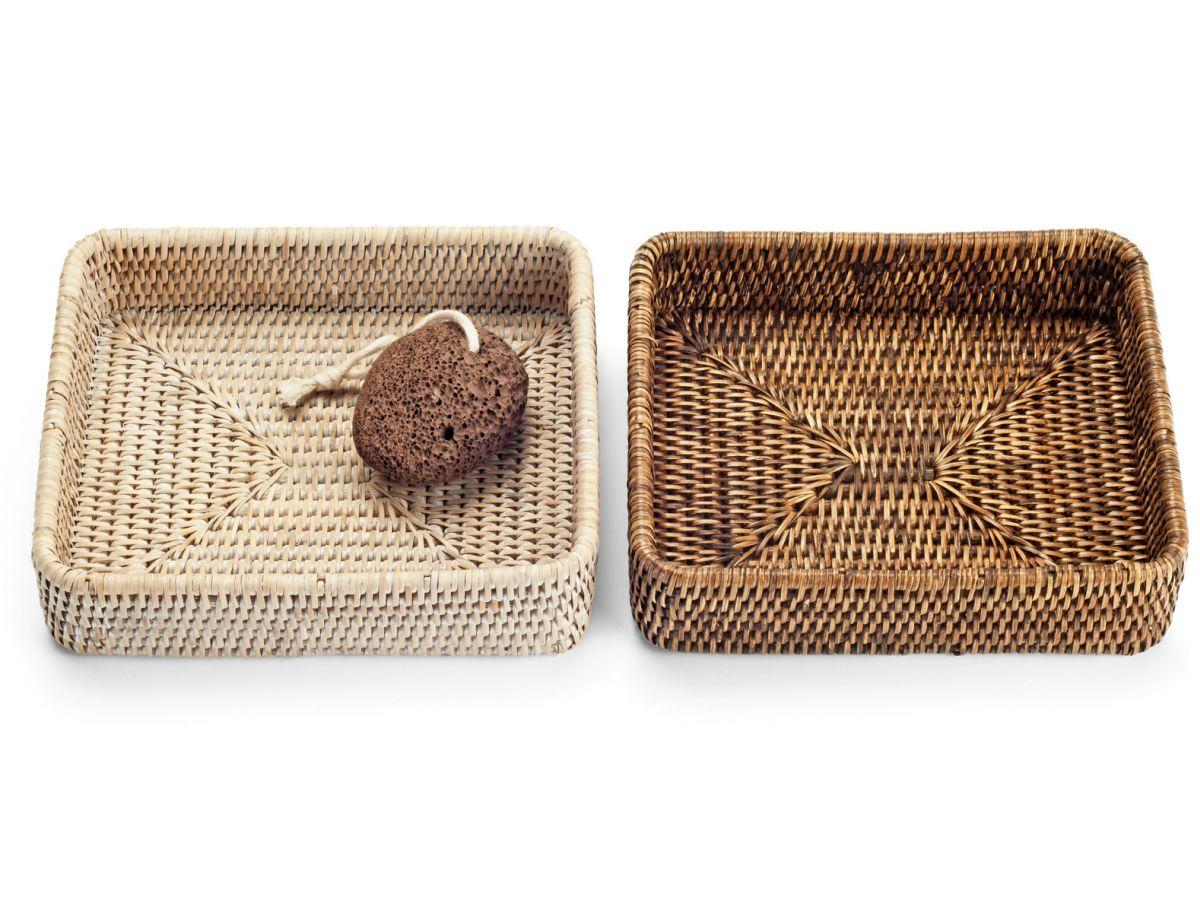 Beautiful rattan trays