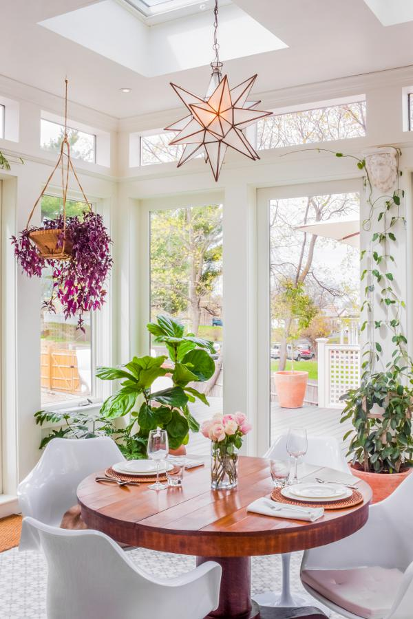 Bring more natural light for dining room