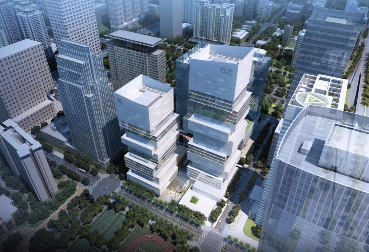 CDB Tower & Minsheng Financial Tower Competition Proposal Architecture