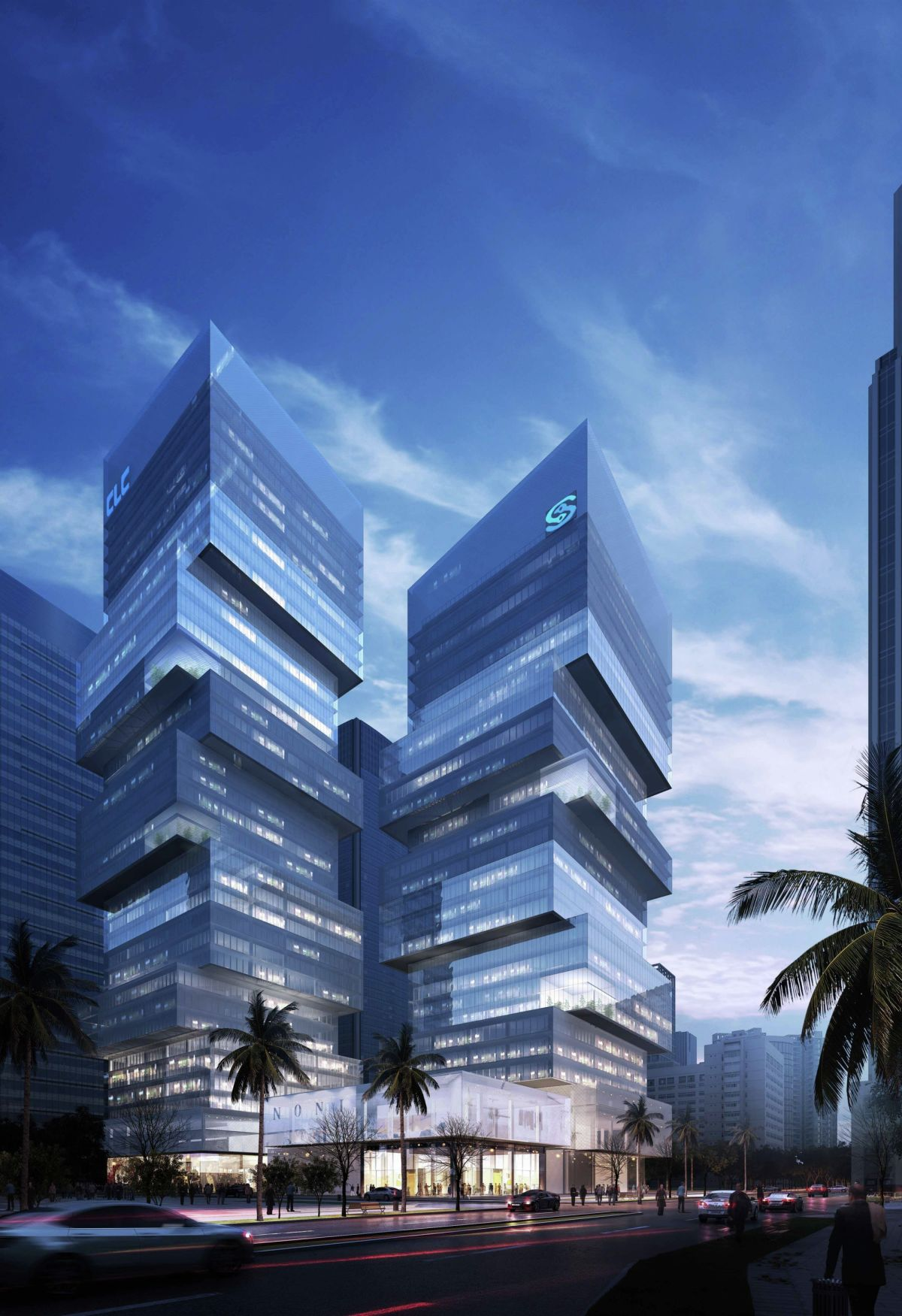 CDB Tower & Minsheng Financial Tower Competition Proposal