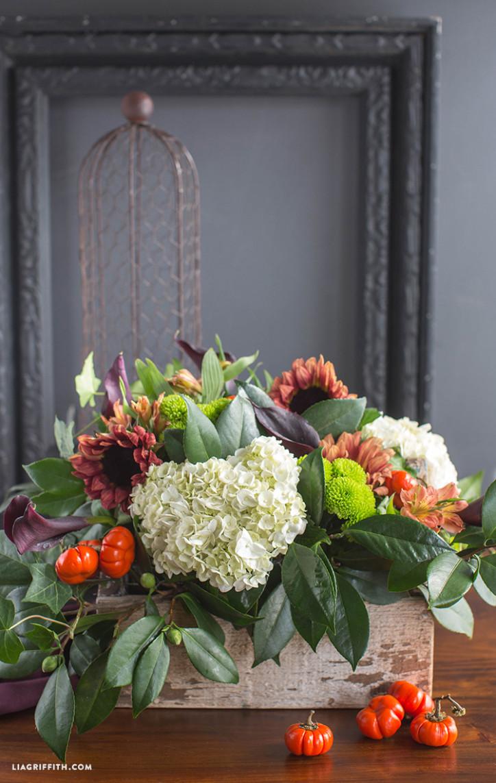 Centerpiece Fall Table