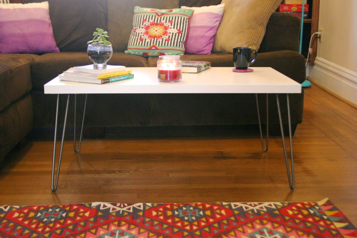 The Key To Chic Diy Furniture Is A Set Of Hairpin Legs