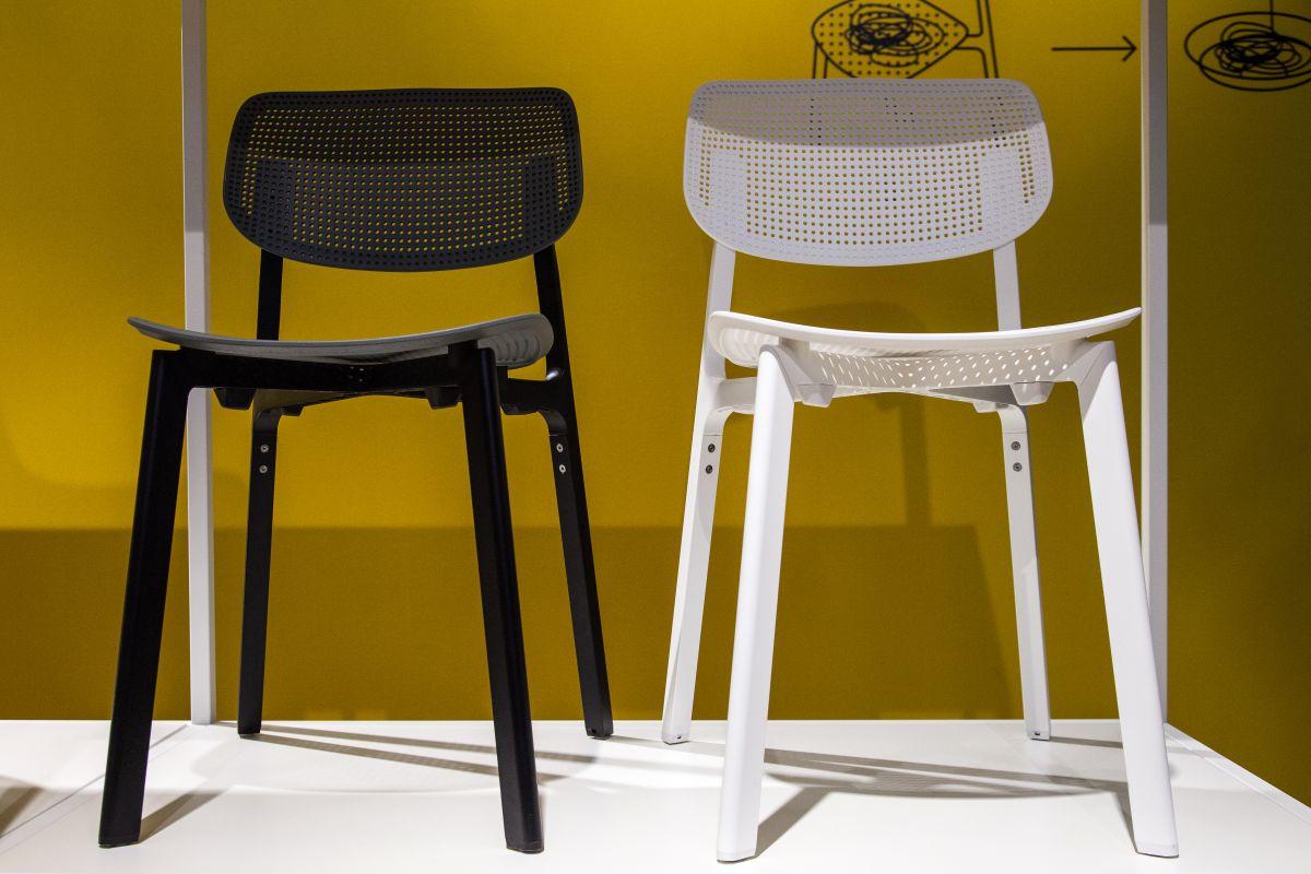 Colander accent chair