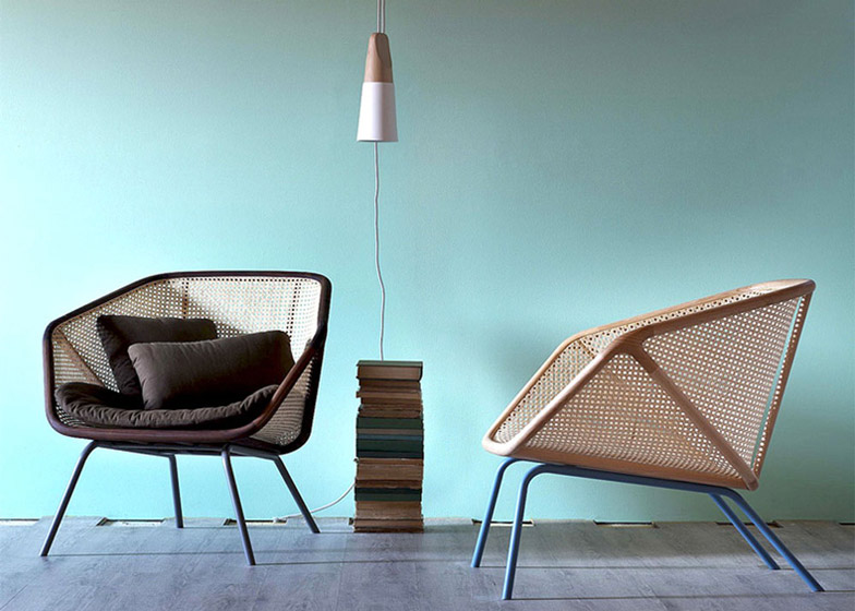 Colony armchair from rattan