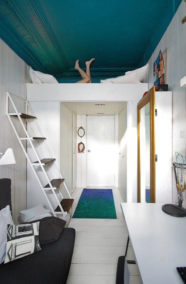 Comfortable loft room