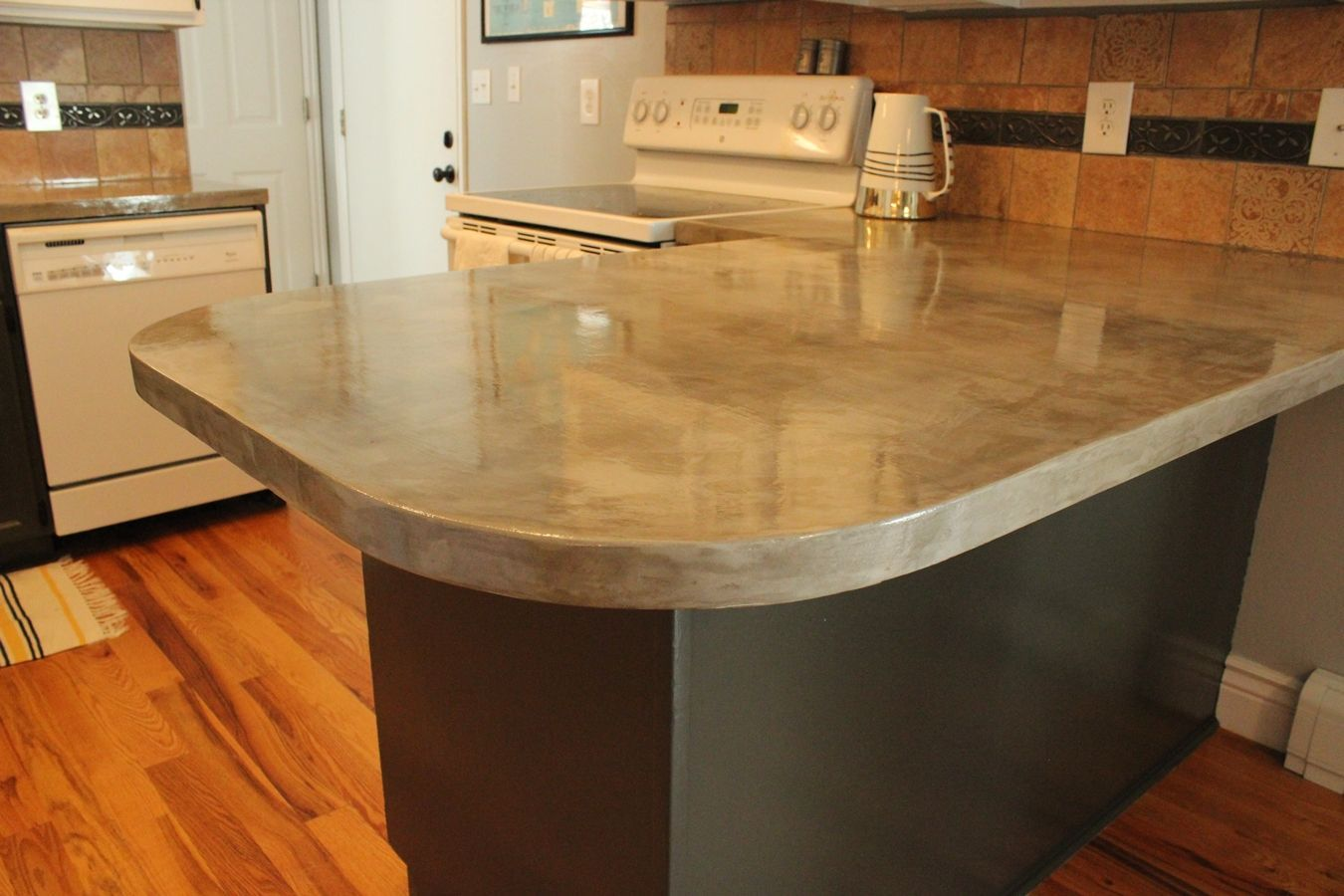 Concrete Kitchen Countertop Tuturial