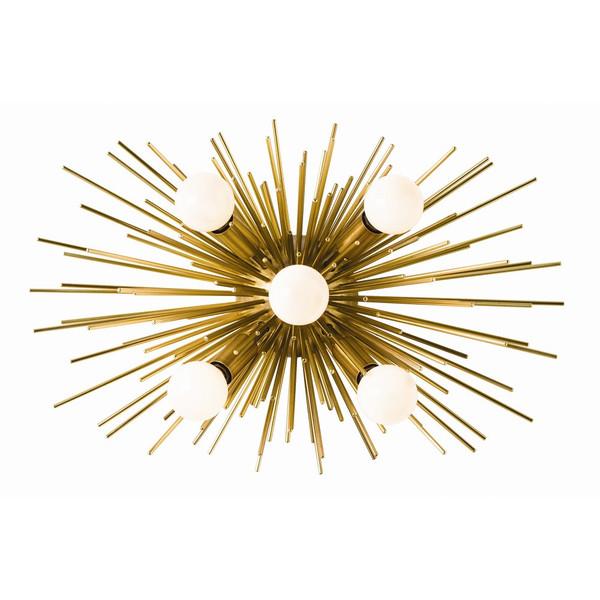 Constalation brass lighting fixture