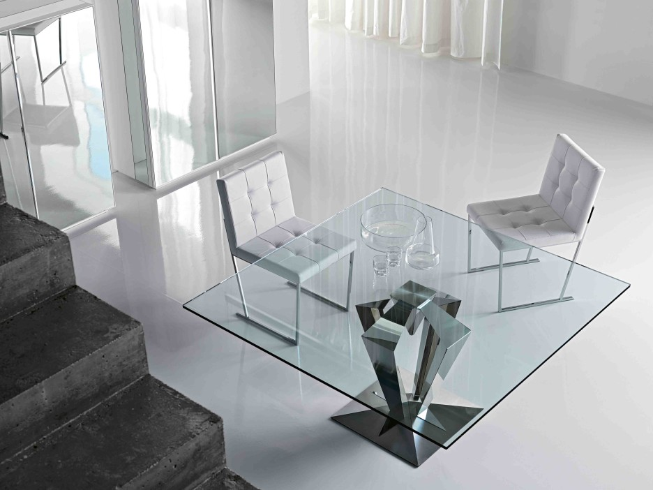 Awesome 40 Glass Dining Room Tables To Revamp With: From Rectangle To Square!