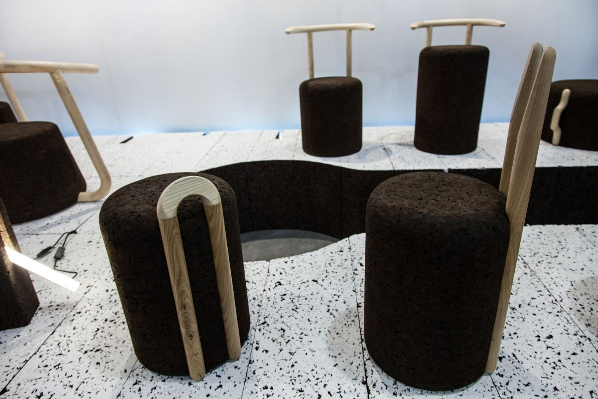 Corc simple chairs