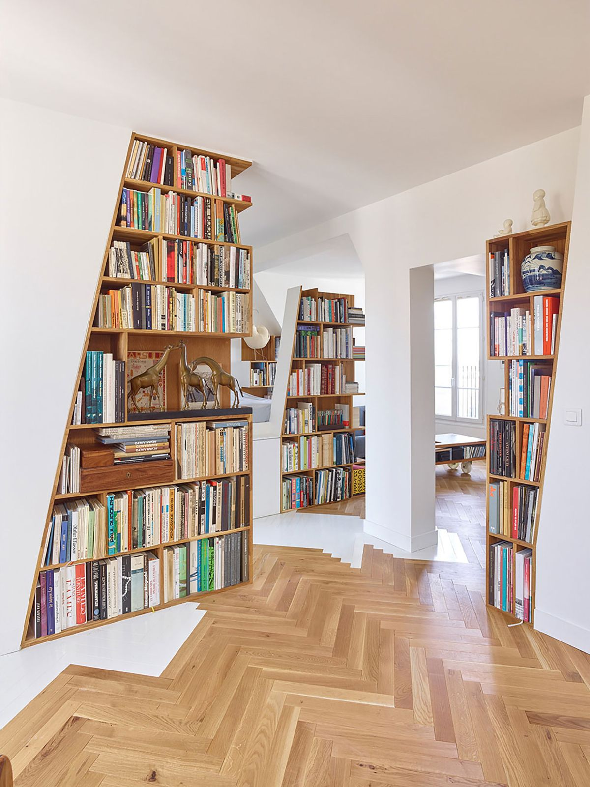 Unusual Bookcases Putting A Creative Spin On The Classical Bookcase Concept